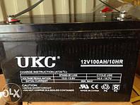Батареи Акумуляторные  UKC 100A 12В