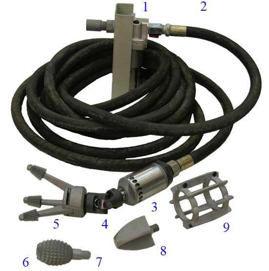СТОК-63 устройство для очистки труб