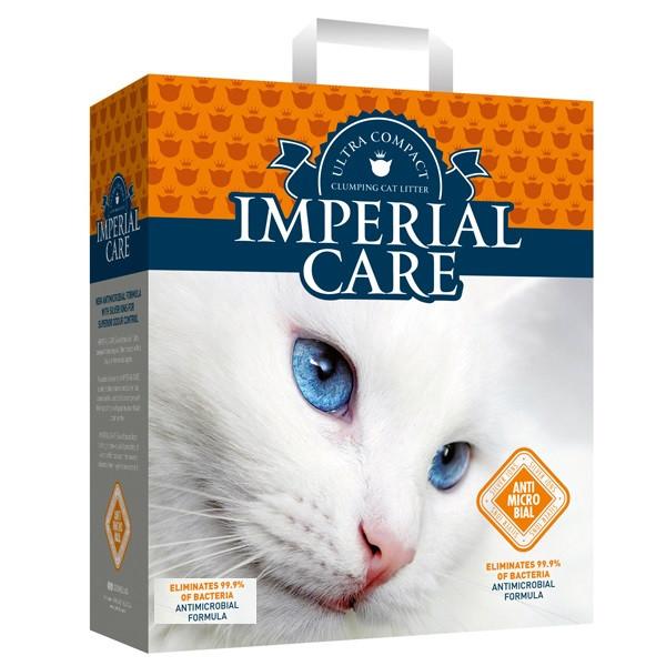 Наполнитель для туалетов кошек Imperial Care Silver Ions ультра-комкующийся антибактериальный 6 кг (6 л)