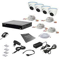 Комплект видеонаблюдения Tecsar AHD 4IN 2MEGA, фото 1