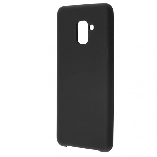 Чехол Silicone Cover without Logo (AA) для Samsung A730 Galaxy A8+ (2018)