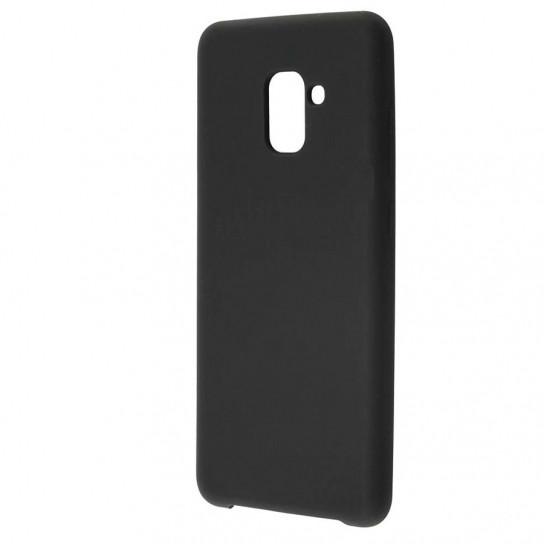 Силиконовый чехол Soft cover для Samsung A730 Galaxy A8+ (2018)