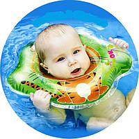 Круг для купания младенцев (голубой)