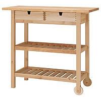 IKEA FORHOJA (800.359.20) Кухонный бар, береза, 100x43 см