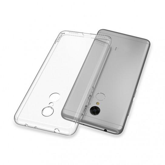 TPU чехол iPaky Clear Series (+стекло) для Xiaomi Redmi 5 Plus / Redmi Note 5 (SC)