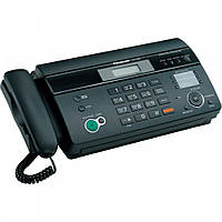Б/у Факс Panasonic KX-FT982UA черного цвета на термобумаге