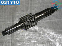 ⭐⭐⭐⭐⭐ Вал вторичный КПП ГАЗ 53 под гайку не в сборе (производство  г.Ровно)  52-1701105-01