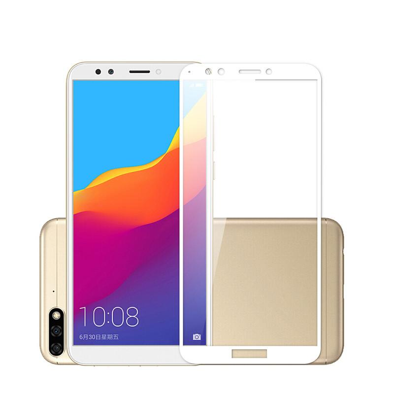 Защитное цветное стекло Mocolo (full glue) на весь экран для Huawei Y5 (2018)/Y5 Prime (2018)/Y5p
