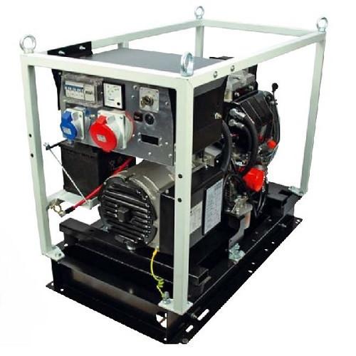 Трёхфазный дизельный генератор Genmac Combiplus 17600LEPR (17 кВа)