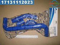 ⭐⭐⭐⭐⭐ Патрубок радиатора ВАЗ 2105 с алюминевая радиатором (комплект 4 шт. силикон) (TEMPEST)  TP.1358