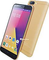 """Сенсорный мобильный телефон (смартфон) M-Horse F3 (5"""") Gold Уценка (163325)"""