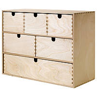 IKEA MOPPE (402.163.57) Миникомод, березовая фанера 42x18x32 см