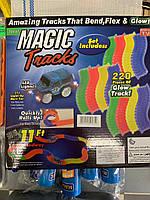 Magic Tracks светящаяся Волшебная Трасса игрушка конструктор «Мэджик Трек» 220 или 360 деталей, от 3,3 до 5,3м