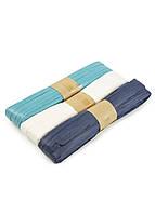 Декоративная лента (3шт) 30м Melinera 3000см Темно-синий, Белый, Голубой