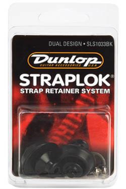 Стреплоки для ремней DUNLOP SLS1033BK DUAL DESIGN BLACK