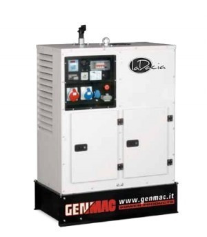Однофазная дизельная электростанция GENMAC Living RG9000LSM (9,2 кВт)