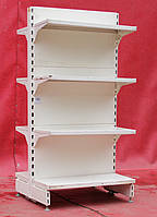 Торговые островные (двухсторонние) стеллажи «Модерн» 140х70 см., компактный, Б/у, фото 1