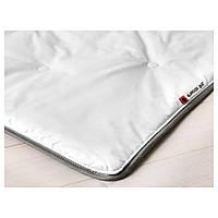 IKEA GLANSVIDE (102.714.49) Одеяло прохладное, хлопковый-сатин, трубчатые волокна 150x200 см