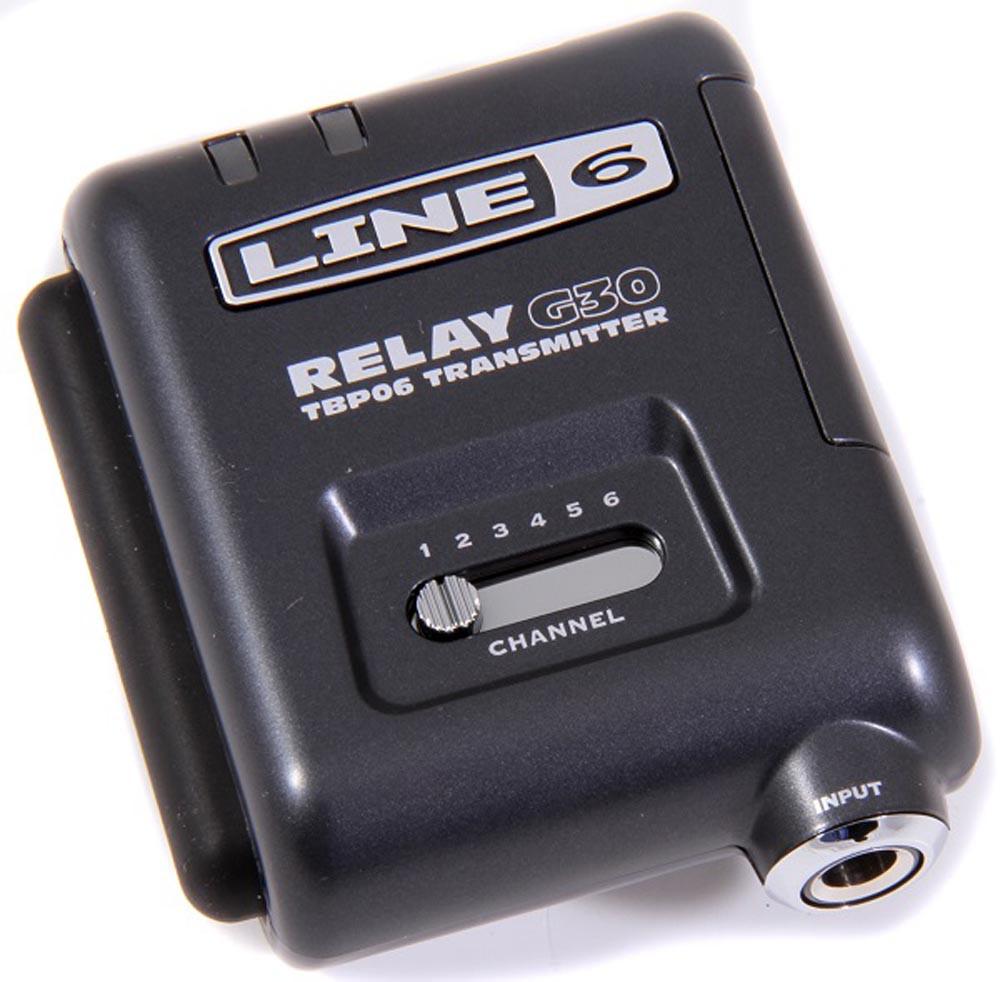 Безпровідна система для гітари LINE6 RELAY G30 Bodypack