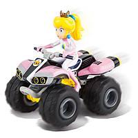 Квадроцикл игрушечный на радиоуправлении Carrera 1:20 Nintendo 8 Mario Kart Принцесса Персик. Уценка.
