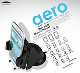 Автодержатель для смартфона 3 - 5,3 дюйма на торпеду Kropsson Aero, фото 3