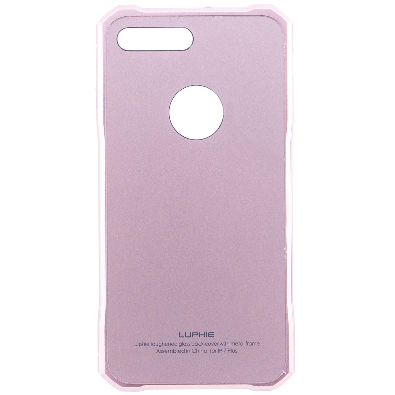 """Металлический бампер Luphie Daimond Series с акриловой вставкой для iPhone 7 plus / 8 plus (5.5"""")"""