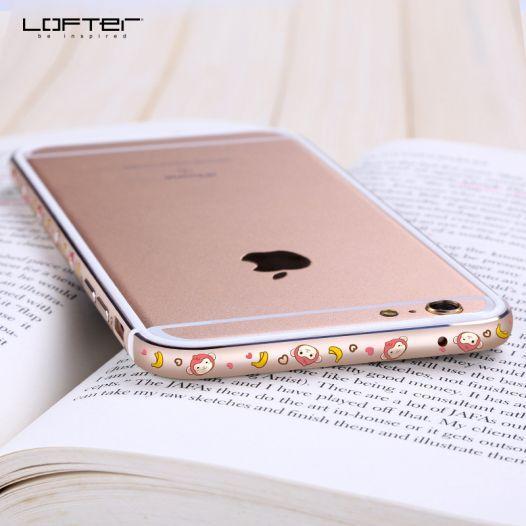 "Металлический бампер Lofter Cutie Series для Apple iPhone 6/6s (4.7"")"