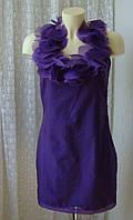 Платье женское модное легкое нарядное мини бренд Lipsy р.44