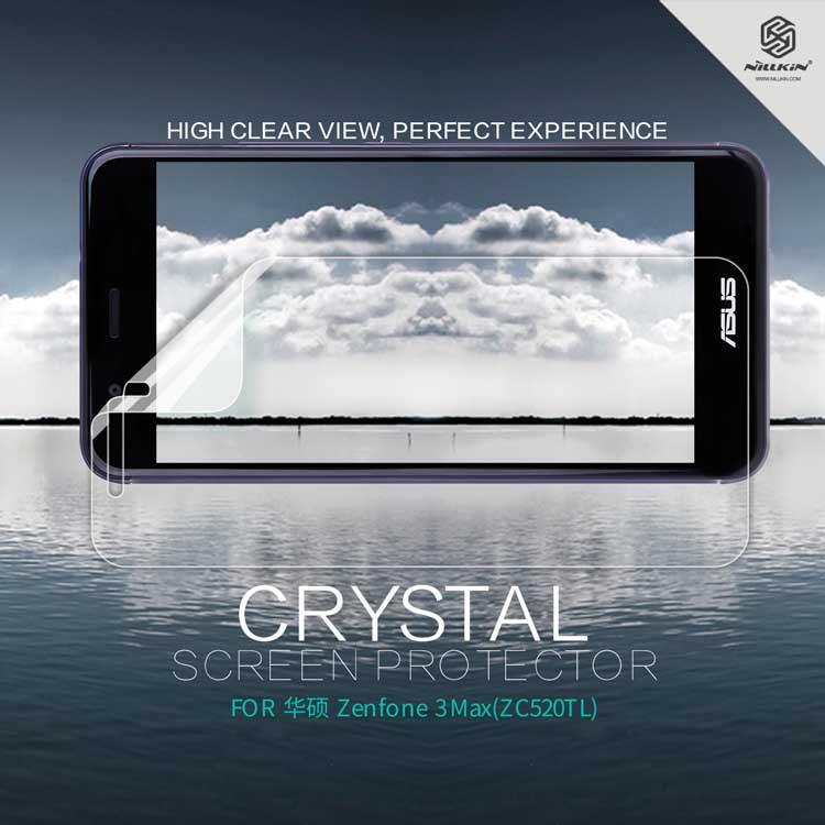 Защитная пленка Nillkin Crystal для Asus Zenfone 3 (ZE520KL)