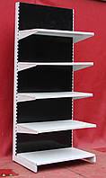 Торговые односторонние (пристенные) стеллажи «Модерн» 210х70 см., кремово-белый, Б/у