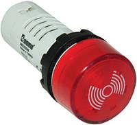 Зуммер моноблочный со световой индикацией 24V AC/DC IP65