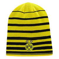 Шапка зимняя мужская Puma Borussia Dortmund Performance 747030-01 Желто-чорный (4053984862399)