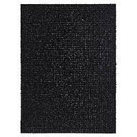 IKEA YDBY (102.305.62) Придверный коврик, черный внутри/снаружи черный, 58x79 см