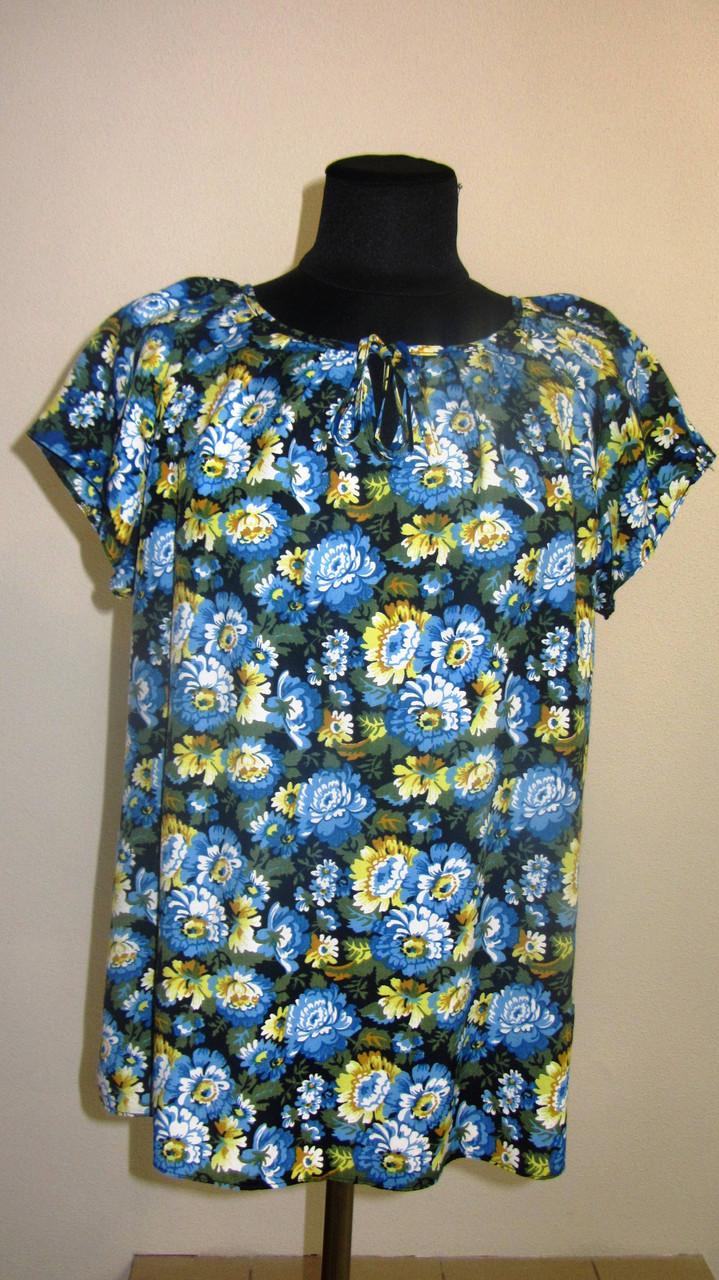 Женские блузы фото, тонкая вискоза , холодок ,100% вискоза , 50,52,54,56, БЛ 037-5.