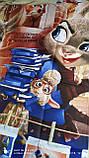 Детский комплект постельного белья Зверополис, фото 4