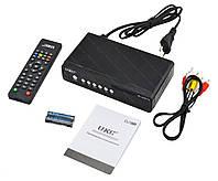 Тюнер DVB-T2 UKC HD-2558 c поддержкой wi-fi адаптера