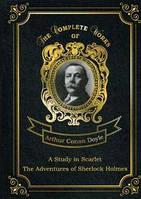 A Study in Scarlet • The Adventures of Sherlock Holmes = Этюд в багровых тонах и Приключения Шерлока Холмса. Т. 13: на англ.яз