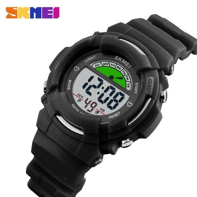Skmei 1272 KIDS черные спортивные детские часы