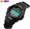 Skmei 1272 KIDS черные спортивные детские часы, фото 6