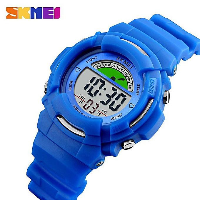 Skmei 1272 KIDS  синие спортивные детские часы