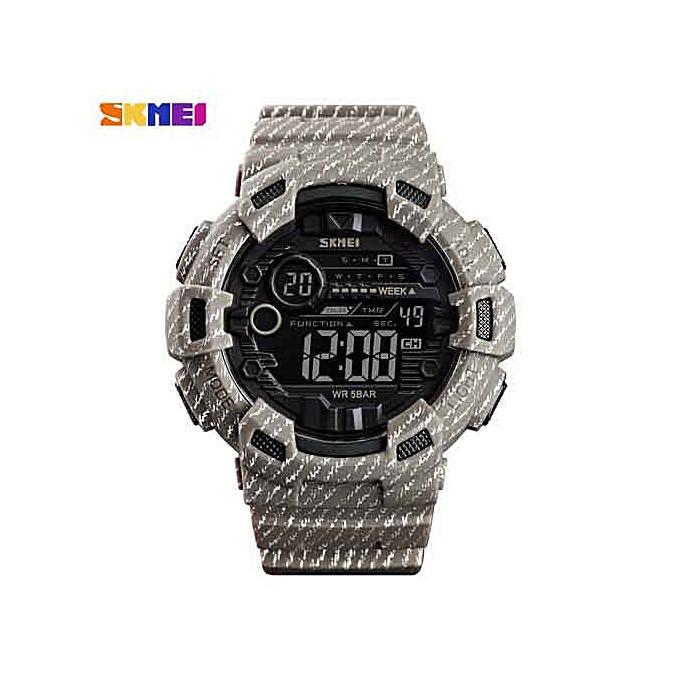 Skmei 1472 Champion Хаки мужские часы