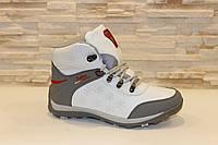 Ботинки зимние белые С519