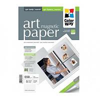 Фотобумага ColorWay магнитная матовый (Формат: A4 (210x297 mm), Плотность: 650 г / м2 Количество в упаковке: 5