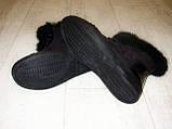 Ботинки зимние женские черные С540, фото 3