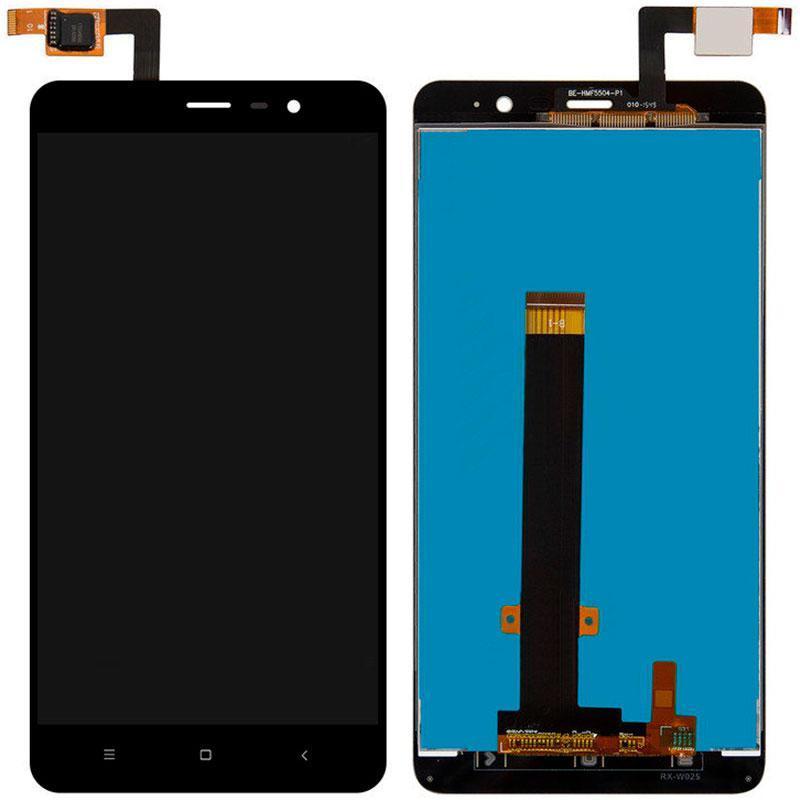 Дисплей и сенсор (модуль) на Xiaomi Redmi Note 3 Pro SE черный (148.5mm)
