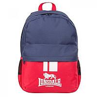 Рюкзак Lonsdale Pocket Back Red/Navy - Оригинал, фото 1