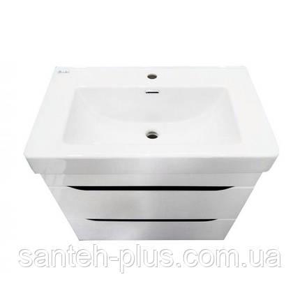 Тумба для ванной комнаты Принц Т6 с умывальником Принц-80, фото 2
