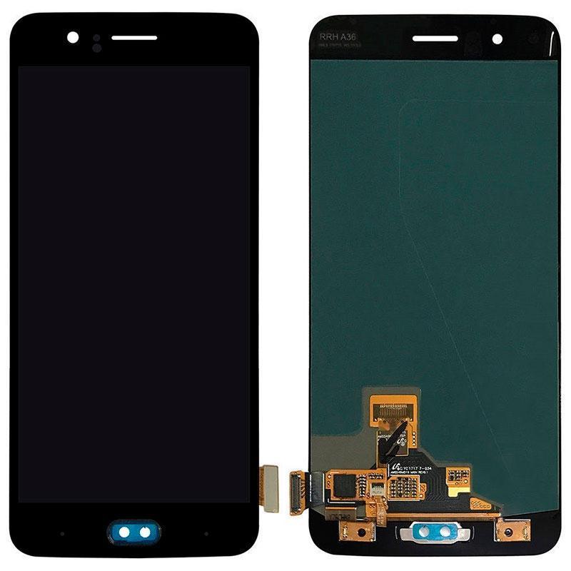 Дисплей і сенсор (модуль) на OnePlus 5 чорний