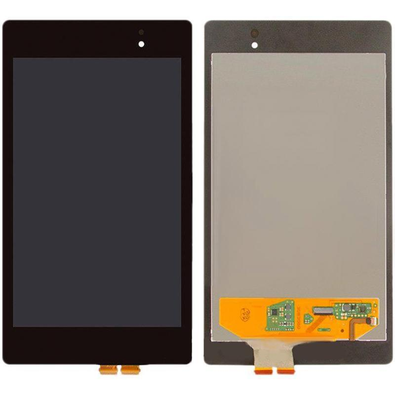 Дисплей и сенсор (модуль) на ASUS Google Nexus 7 с рамкой (ME370)