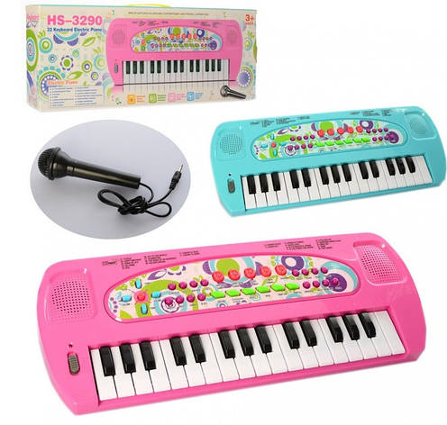 Синтезатор детский 32 клавиши, 8 тонов, фото 2